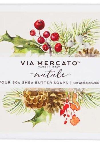 Coffret cadeau Natale | Via Mercato | 4 x 50g