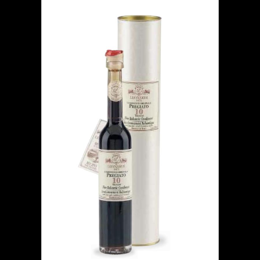 Vinaigre Balsamique Pregiato 10 Travasi |Leonardi | 100ml