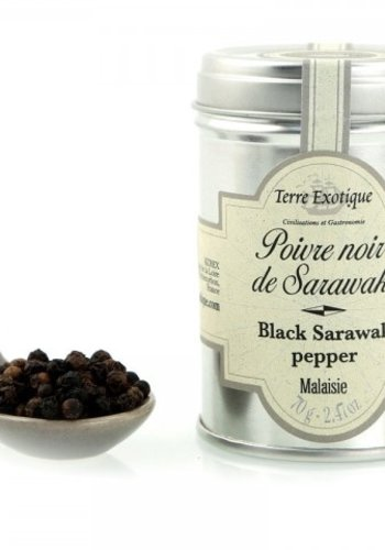 Poivre Sarawak Noir | Terre Exotique | 70g