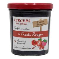 Confiture aux 4 fruits rouges | Vergers des Alpilles | 370g