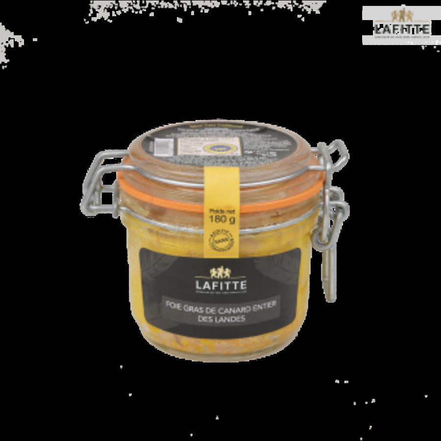 Foie gras entier de canard des Landes | Lafitte | 180g