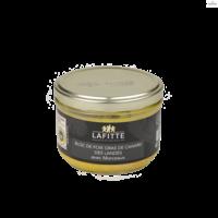 Block Duck foie gras with 30% pieces | Lafitte | 200g