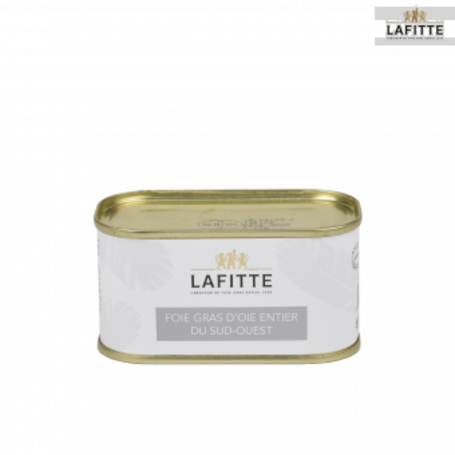 Whole goose foie gras from the South West | Lafitte | 130g