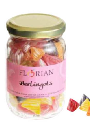 Assortiment de berlingots pot en verre | Confiserie Florian | 170g