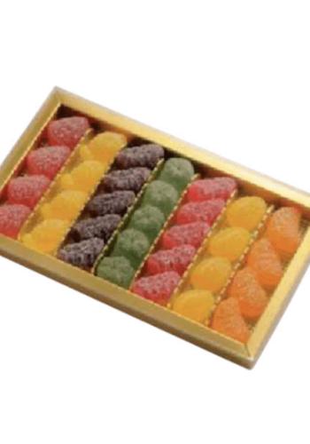 Assortiment de gels de fruits 240 g Confiserie Florian