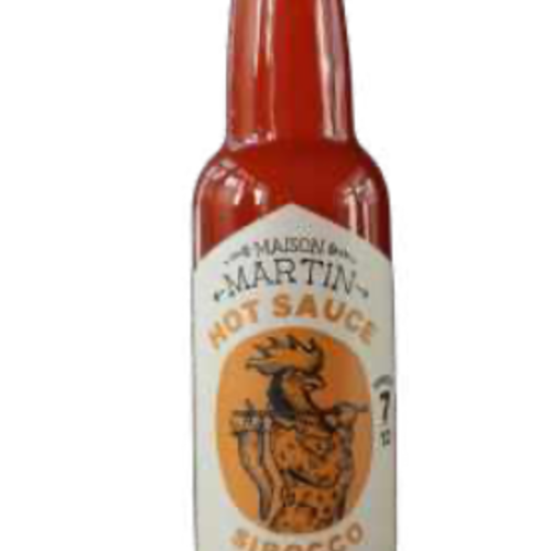 Sauce piquante Sirocco   Maison Martin   Force 7/12  100 ml