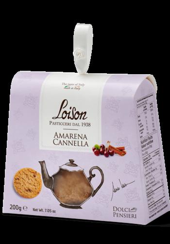 Biscuit à la cerise et cannelle190g |Loison Pasticceri Dal 1938