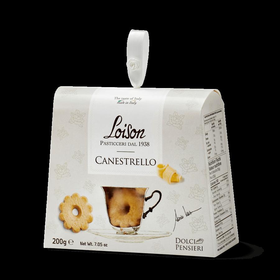 Biscuit canestrello ( beurre) 190g |Loison Pasticceri Dal 1938