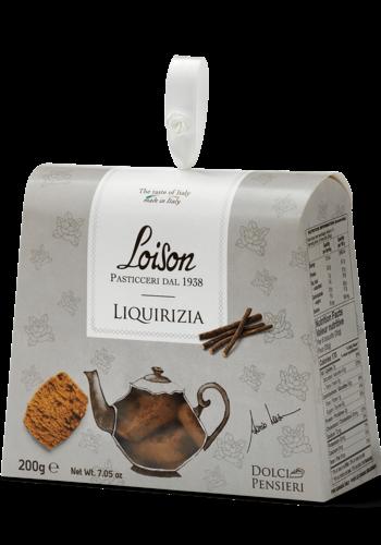 Biscuit Liquirizia ( réglisse) 190g |Loison Pasticceri Dal 1938