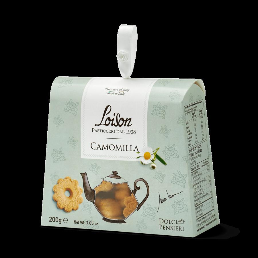 Biscuit à la camomille 190g  Loison Pasticceri Dal 1938