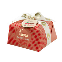 Panettone Wild strawberries and milk chocolate   Filippi   1 kg