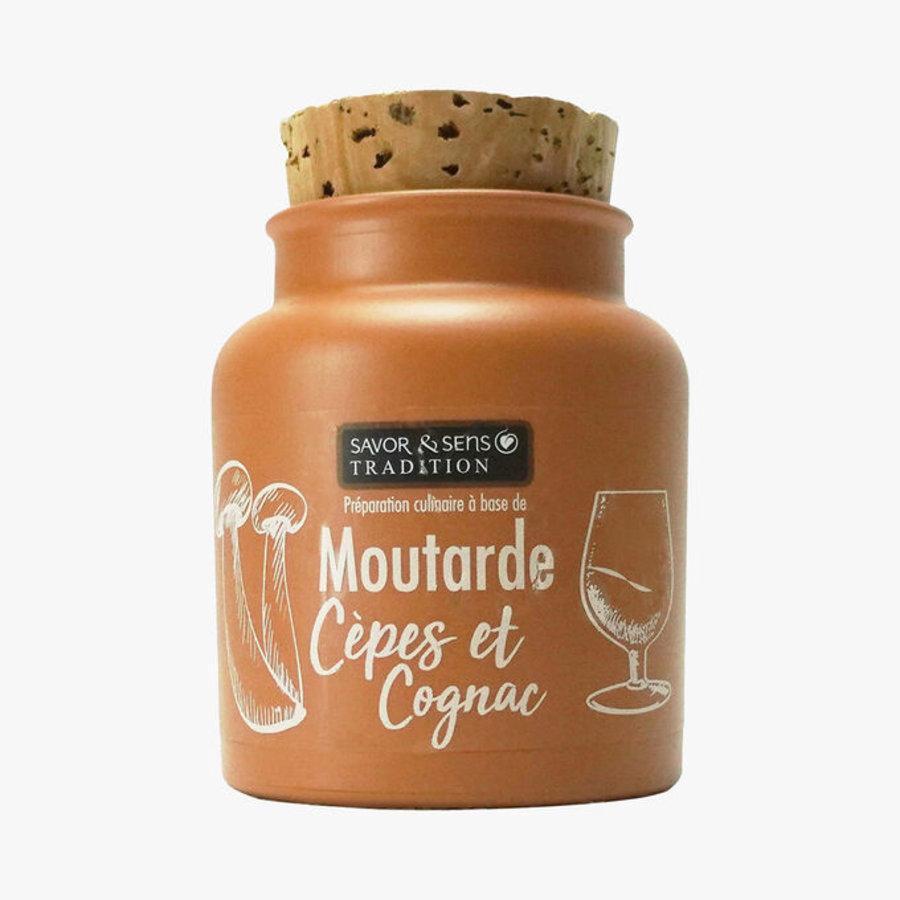 Moutarde cèpes et cognac | Savor & Sens | 110g
