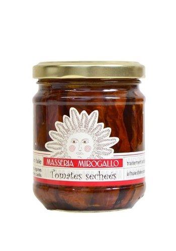 Tomates séchées 195 gr dans l'huile d'olive | Masseria Mirogallo