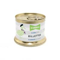 Rillettes classiques pur canard 90 g | Les Canardises