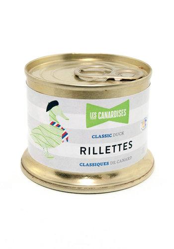 Rillettes classiques de canard | Les Canardises | 150 g