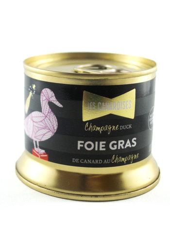 Bloc de foie gras au champagne | Les Canardises | 140g