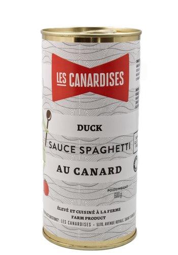 Sauce a spaghetti au canard | Les Canardises | 600g