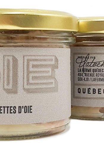 Rillettes d'oie | La Ferme Québec-Oies | 90g