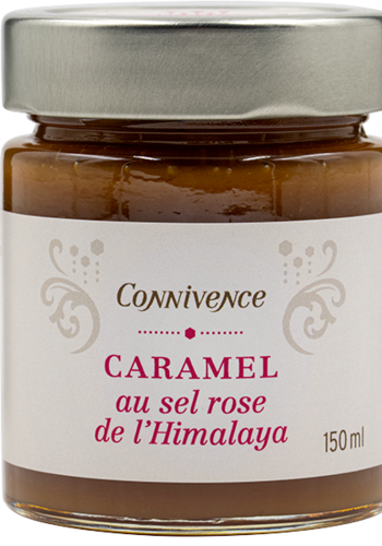 Caramel au sel rose | Concept Connivence | 150ml