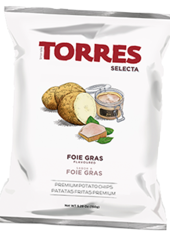 Foie Gras flavoured Potato Chips | Torres | 125g