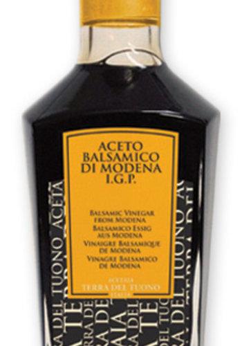 Vinaigre de balsamique | 6| bouteille jaune | Terra del Tuono | 250ml