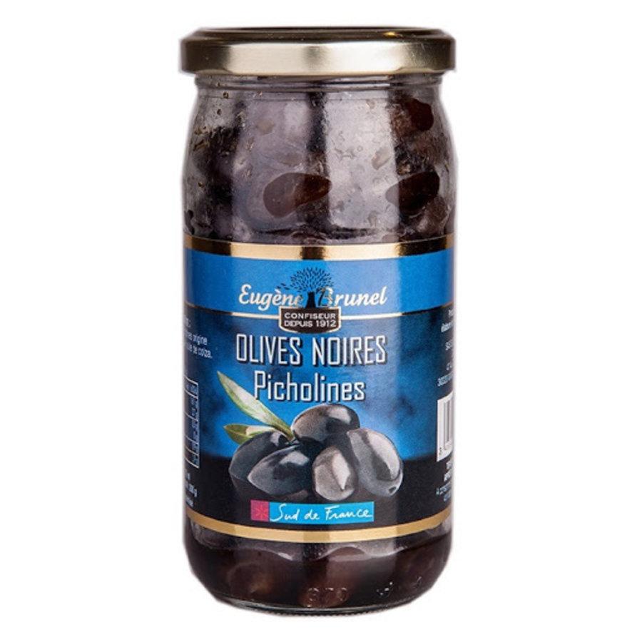 Olives picholines noires | Eugène Brunel | 350 g