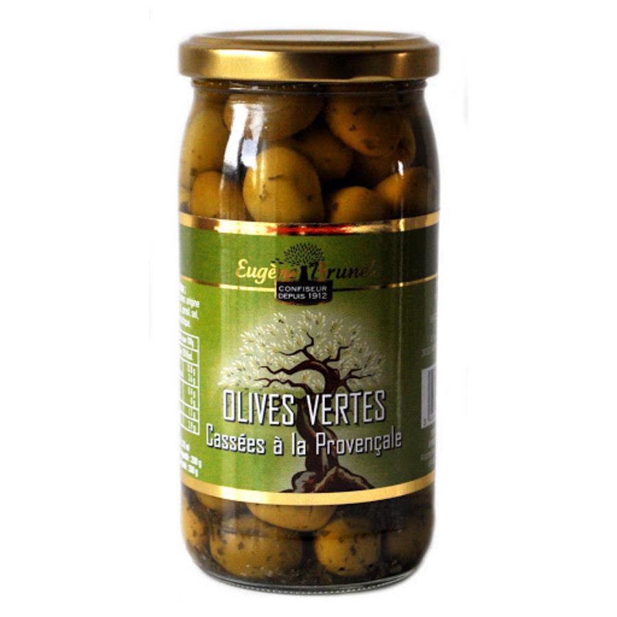 Olives vertes à la provençale | Eugène Brunel | 350g