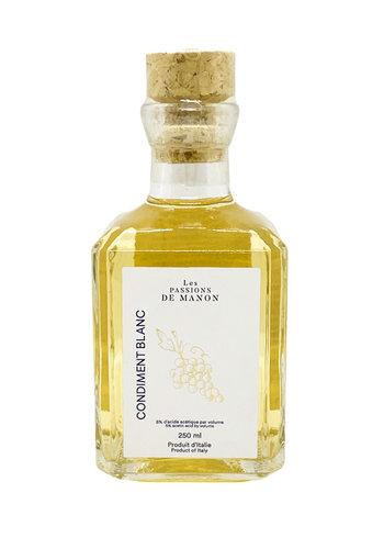 Condiment Balsamique blanc | Les Passions de Manon | 250ml