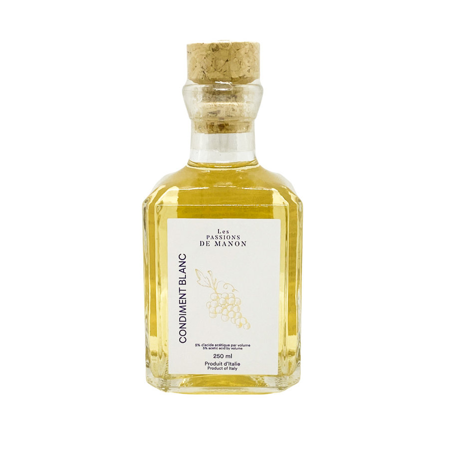 White Balsamic Condiment Passions of Manon 250ml