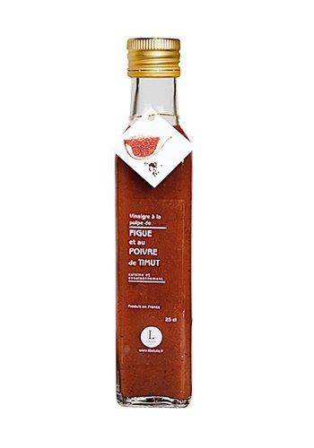 Vinaigre à la pulpe figue et poivre de Timut | Libeluile | 250ml