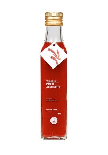Vinaigre à la pulpe de piment d'Espelette |Libeluile | 250ml