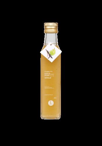 Vinaigre à la pulpe de poire à la vanille | Libeluile | 250ml