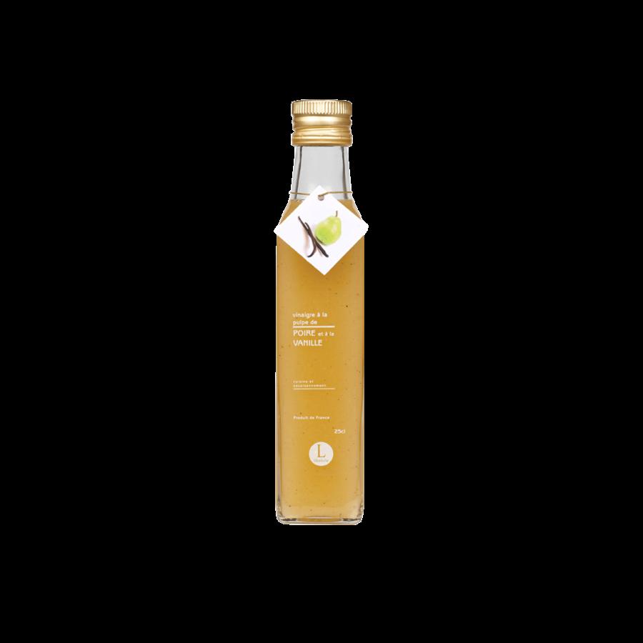 Vinaigre à la pulpe de poire à la vanille   Libeluile   250ml