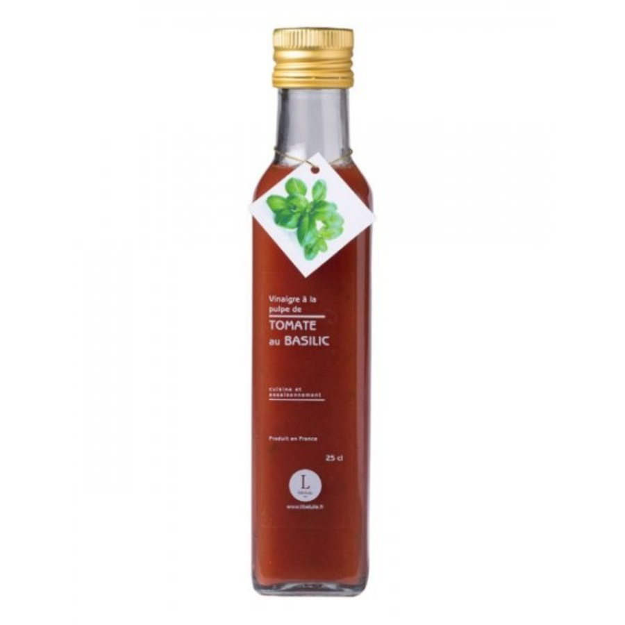 Vinaigre à la pulpe de tomate au basilic  | Libeluile | 250ml