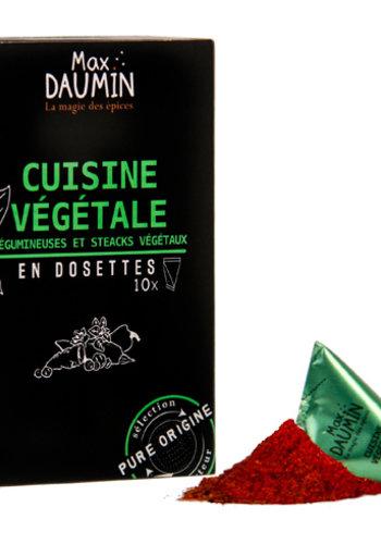 Cuisine Végétale | Max Daumin | 10 dosettes  | 21g