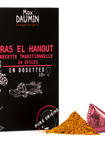 Ras El Hanout | Max Daumin | 10 dosettes | 18g