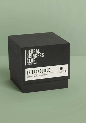 Tisane-Infusion  Le Tranquille  | Herbal Drinkers Club | 20 sachets