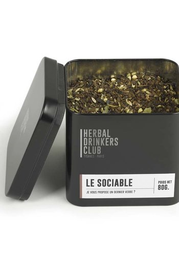 Tisane-Infusion Le Sociable  | Herbal Drinkers Club | vrac 80g