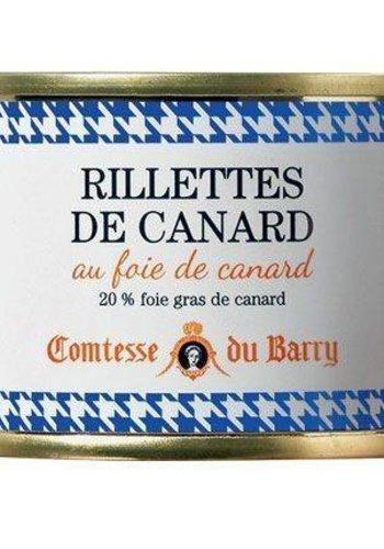 Rillettes de Canard au foie Gras | Comtesse du Barry | 140g