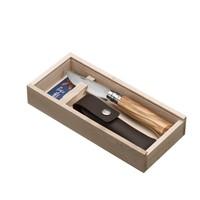 Plumier #8 en bois d'olivier & étui | Opinel Savoie France