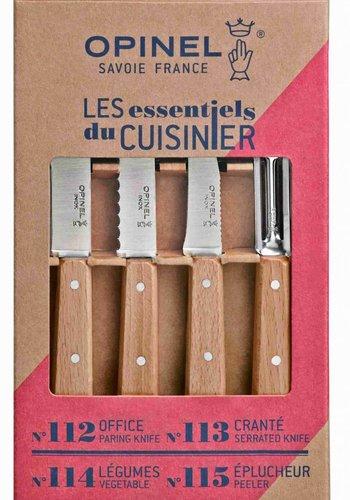 Les Essentiels du cuisinier 112-113-114-115 | Opinel Savoie France