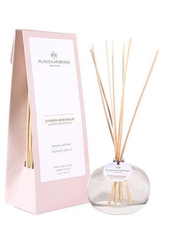 Bouquet  parfumé  |Citron Meringué |Plantes & Parfums Provence | 100ml