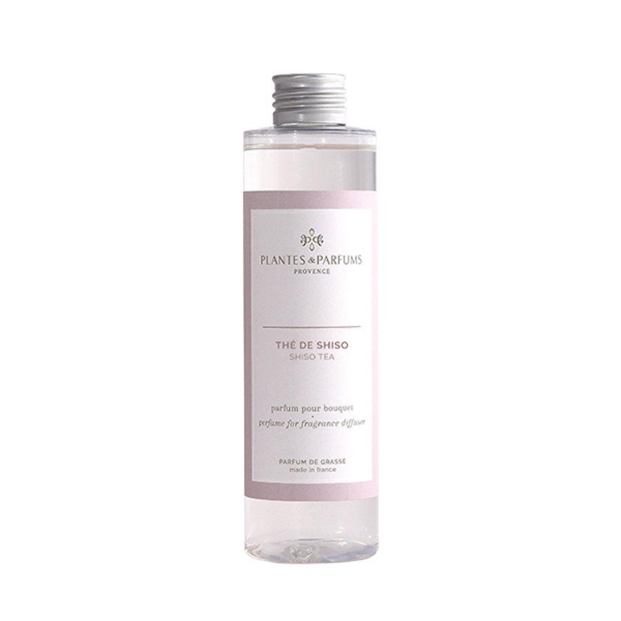 Parfum pour Bouquets parfumés  | Thé de Shiso |Plantes & Parfums Provence | 200 ml