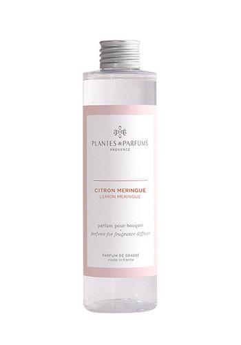 Parfum pour Bouquets parfumés  |Citron Meringué|Plantes & Parfums Provence | 200 ml