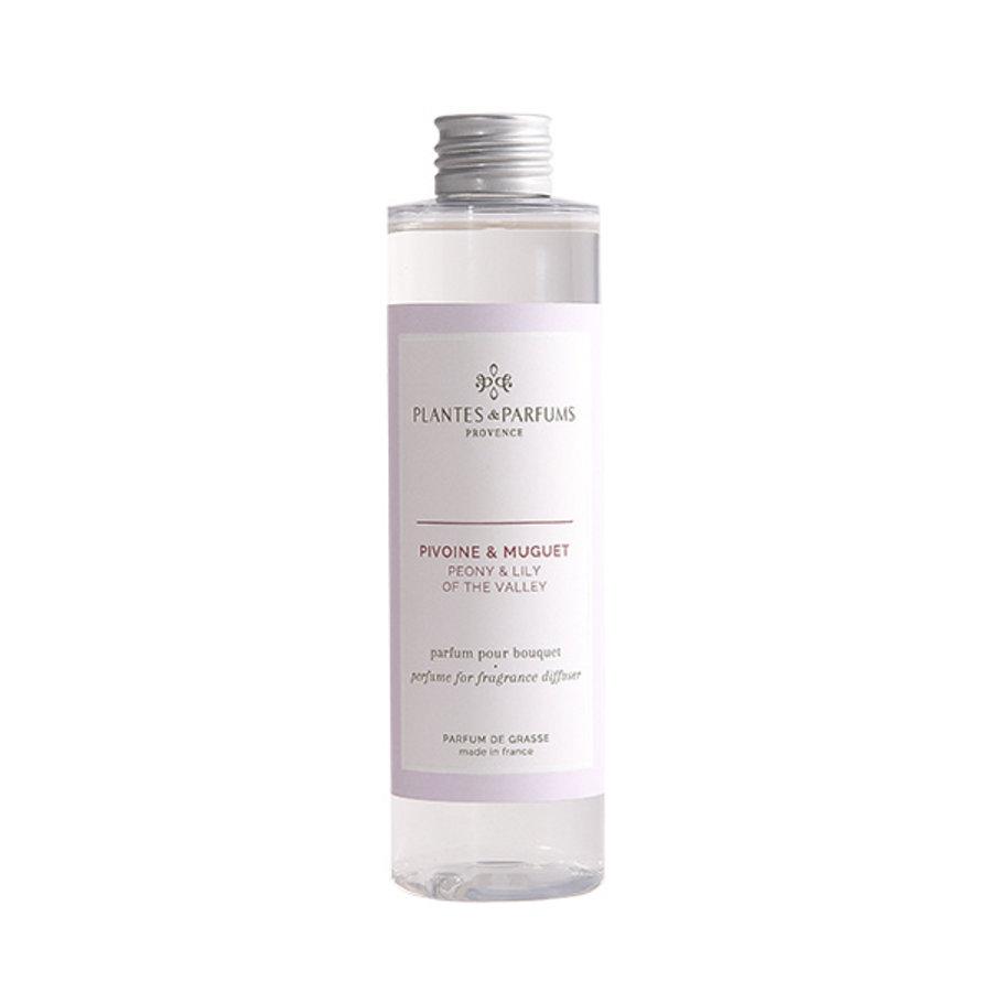 Parfum pour Bouquets parfumés  | Pivoine & Muguet |Plantes & Parfums Provence | 200 ml