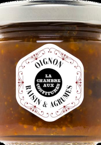 Confit d'oignon raisin & agrumes | La Chambre aux Confitures | 100g