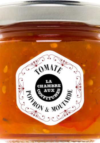 Chutney Tomate, Poivron & Moutarde | La Chambre aux Confitures | 100g