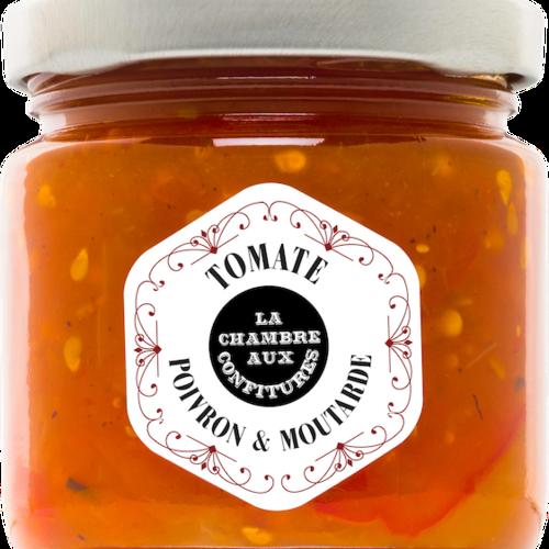 Chutney poivron & moutarde| La Chambre aux Confitures | 100g
