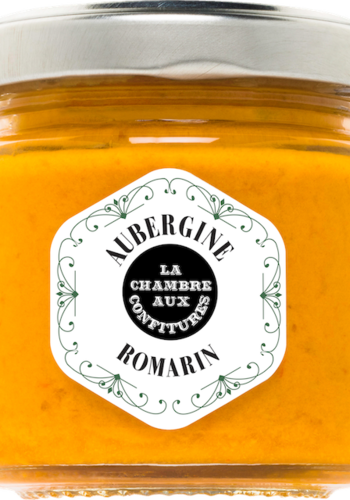 Tartinade Aubergine & Romarin | La Chambre aux Confitures | 100g
