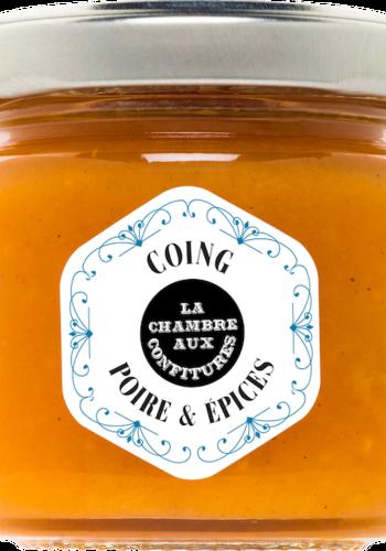 Confit de coing, poire & épices  | La Chambre aux Confitures | 100g